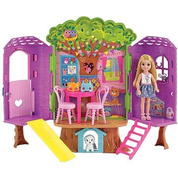 Barbie Chelsea a domeček na stromě (0887961607703)