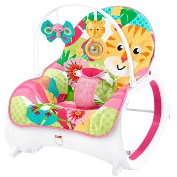Fisher-Price Sedátko s tygříkem růžové (0887961578065)