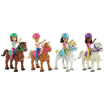Barbie Mini panenka a pony (0887961529692)