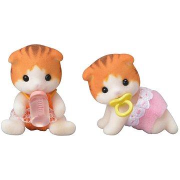 Sylvanian Families Baby Dvojčata koťata javorových koček (5054131052921)
