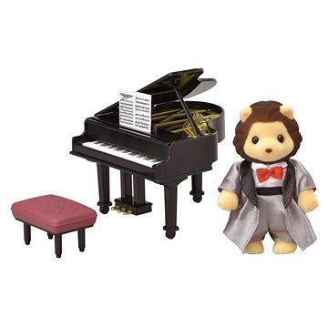 Sylvanian Families Město - klavírista lev (5054131060117)