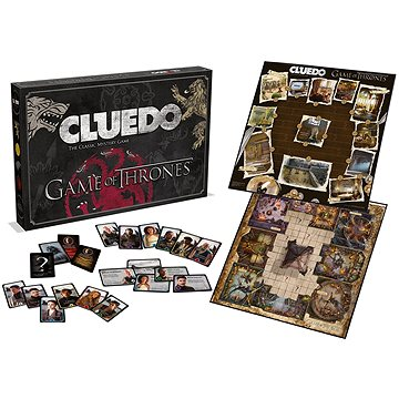 Cluedo Game of Thrones, ENG (5036905027410)