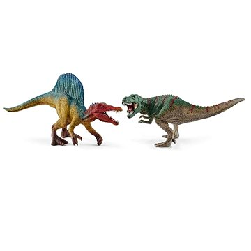 Schleich Sada Spinosaurus a T-rex malý (4055744011634)