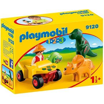Playmobil 9120 Lovec dinosaurů (4008789091208)