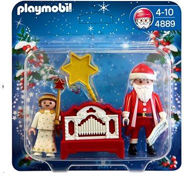 Playmobil 4889 Santa Claus a flašinet (4008789048899)