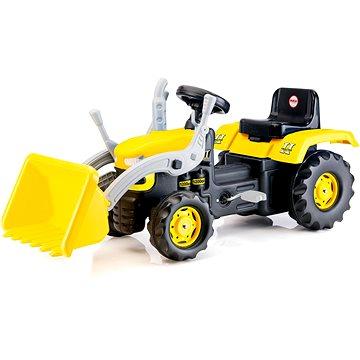 Dolu Velký šlapací traktor s rypadlem (8690089080516)