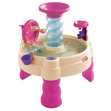 Little Tikes Spirálovitý vodní stůl - růžový (0050743173769)