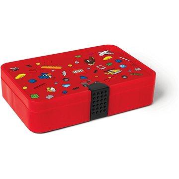 LEGO Iconic Krabička s přihrádkami - červená (5711938030735)