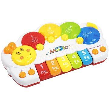 Let's play Dětské klávesy ve tvaru housenky (8594166109865)