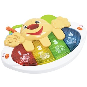 Let's play Dětské klávesy ve tvaru pejska (8594166109872)