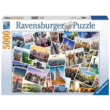 Ravensburger 174331 NY City nikdy nespí (4005556174331)