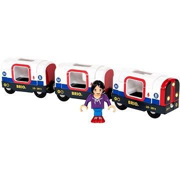 Brio World 33867 Metro vlak (7312350338676)