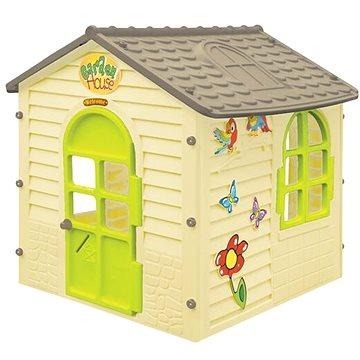 Zahradní domek malý s kytičkami (5907442115581)