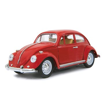 Jamara VW Beatle RC Die Cast Red 1:18 - červené (4042774433642)