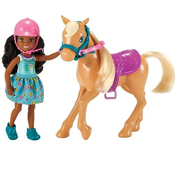 Barbie Chelsea s poníkem (887961628173)