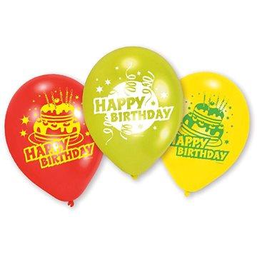 Amscan Balónky Happy Birthday 6 ks (4009775336945)