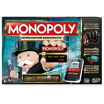 Monopoly Ultimate Banking SK (5010993302918)