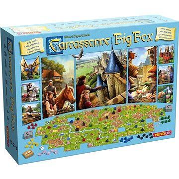 Carcassonne: Big Box 2017 (8595558302918)