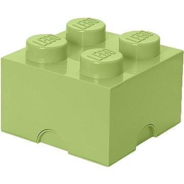 LEGO úložný box 250 x 250 x 180 mm - jarní zelená (5711938029623)