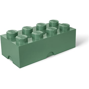 LEGO úložný box 250 x 500 x 180 mm - army zelená (5711938029630)