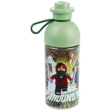 LEGO Ninjago láhev transparentní 0,5L - army zelená (5711938029791)