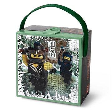 LEGO Ninjago box s rukojetí - army zelená (5711938029807)