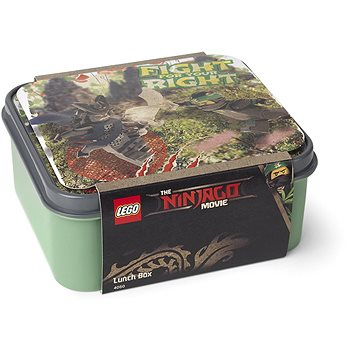 LEGO Ninjago box na svačinu - army zelená (5711938029845)