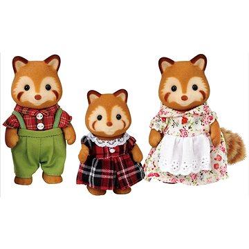 Sylvanian Families Rodina - rodina červené pandy (5054131052150)