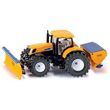 Siku Super - Traktor s přední radlicí a sypačem soli (4006874029402)