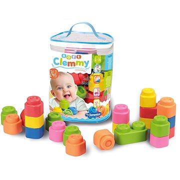 Clementoni Clemmy baby - 24 kostek v plastovém pytli (8005125148899)