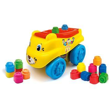 Clementoni Clemmy baby - Tygr vagón s kostičkami (8005125149520)