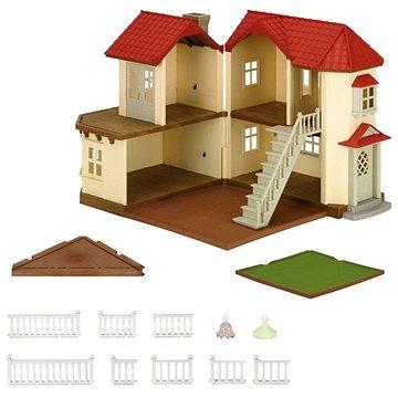 Sylvanian Families Městský dům se světly a příslušenstvím H (8718637036454)