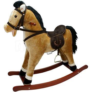 Houpací kůň závodní - světle hnědý (8591945083897)