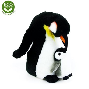 Rappa Plyšový tučňák s mládětem (8590687109995)