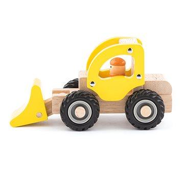 Woody Dřevěné autíčko – Bagr (8591864918034)