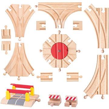 Woody Příslušenství k dráze - Rozšířený set kolejí (8591864918133)