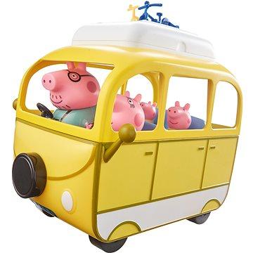Peppa Pig - Karavan s příslušenstvím + 4 figurky (5029736053321)