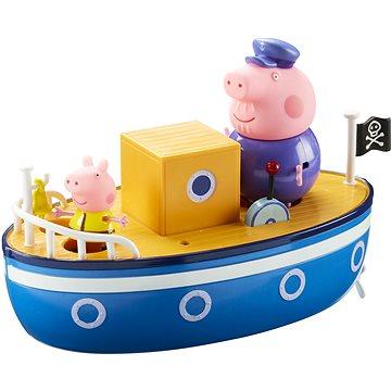 Prasátko Peppa - Loď + 3 figurky (5029736050603)