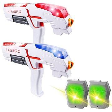TM Toys Laser-X Pistole s infračervenými paprsky – dvojitá sada (5908273025872)