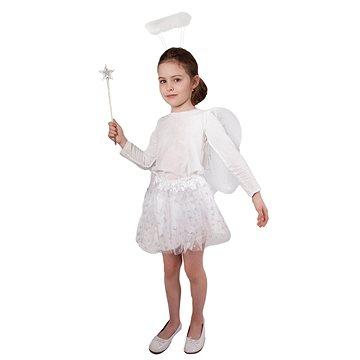 Rappa Sukně tutu anděl s křídly a příslušenstvím (8590687532403)
