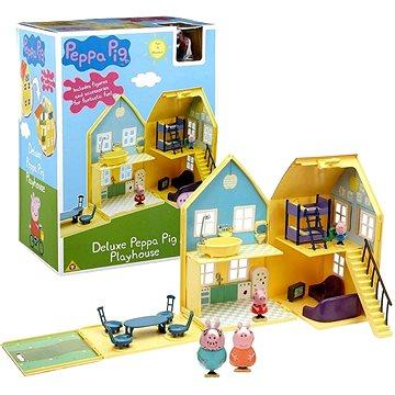 Prasátko Peppa - domeček de Lux + 4 figurky a příslušenství (5029736048402)