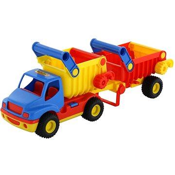 Polesie Auto ConsTruck Sklápěčka s přívěsem (4810344037718)