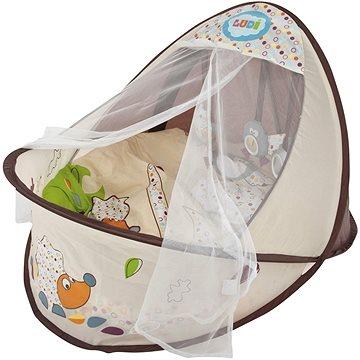 Ludi Cestovní postýlka / hnízdo pro miminko Nature (3550839928152)