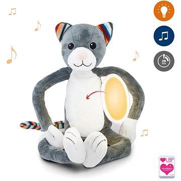 ZAZU - Kočička KATIE plyšové noční světlo s melodiemi (703625107139)