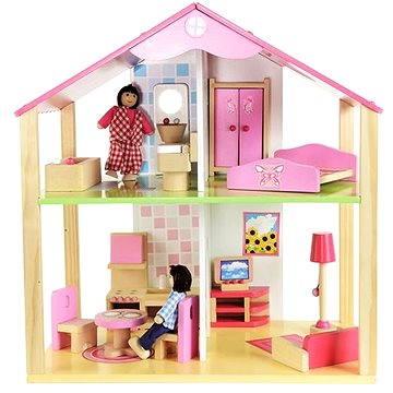 Simba Drevený domček pre bábiky (4003046024982)