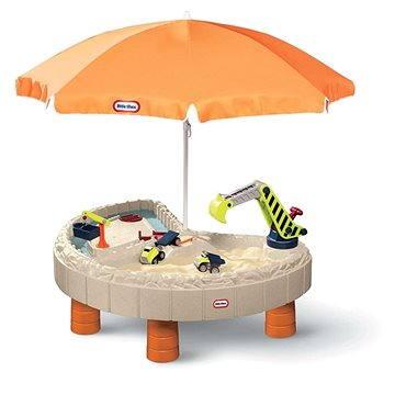 Little Tikes Vodní stůl a pískoviště pro stavitele Builders Bay (0050743387319)