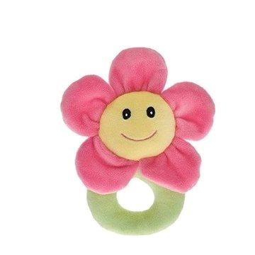 Chrastítko plyšové květinka (8592117930384)
