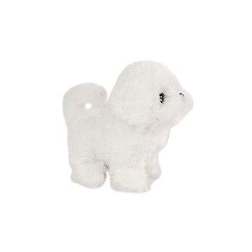 Pes plyšový bílý (8713219344743)
