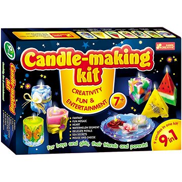 Sada na výrobu svíček (4823076119836)
