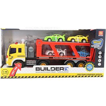 Kamion přepravník s auty (8592386056648)